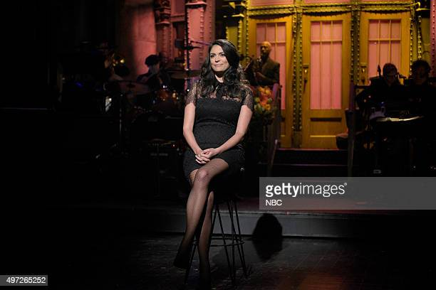 LIVE 'Elizabeth Banks' Episode 1688 Pictured Cecily Strong during the cold open on November 14 2015
