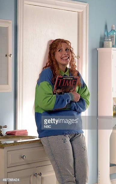 LIVE 'Elizabeth Banks' Episode 1688 Pictured Vanessa Bayer during the 'First Got Horny 2 U' sketch on November 14 2015