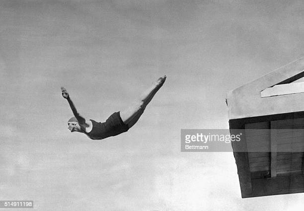 Elizabeth Becker won the silver medal in highboard diving at the 1924 Olympic Games in Paris At the same Games she won the gold for springboard diving