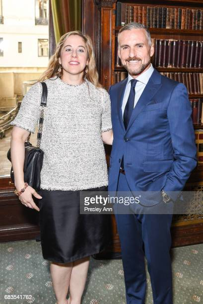 Elizabeth Belfer and guest attend Audrey Gruss' Hope for Depression Research Foundation Dinner with Author Daphne Merkin at The Metropolitan Club on...