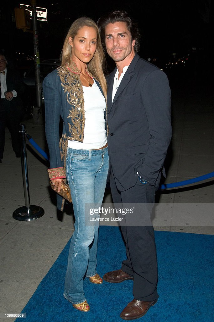 Elizabeth Berkley and Greg Lauren during La Dolce Vita - The New York Academy of Art 2006 Tribeca Ball at Skylight Studios in New York City, New York, United States.