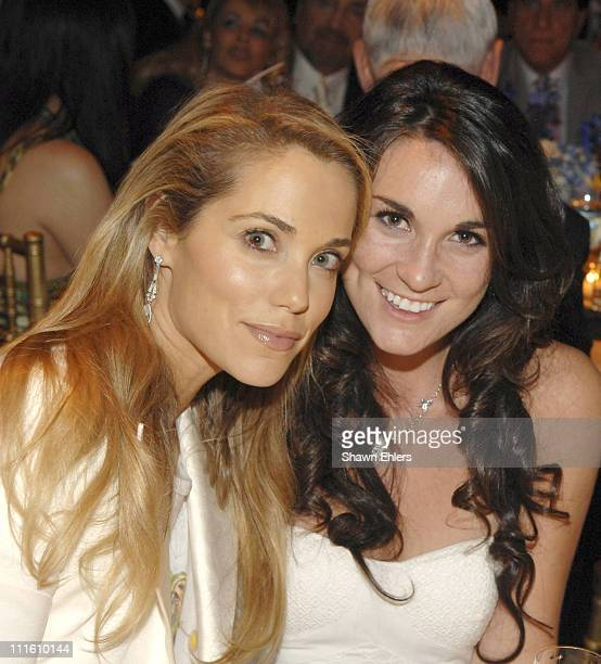 Elizabeth Berkley and Lee Ann Bulgin during 6th Annual Artrageous Gala Dinner and Art Auction at Cipriani 42nd Street in New York City New York...