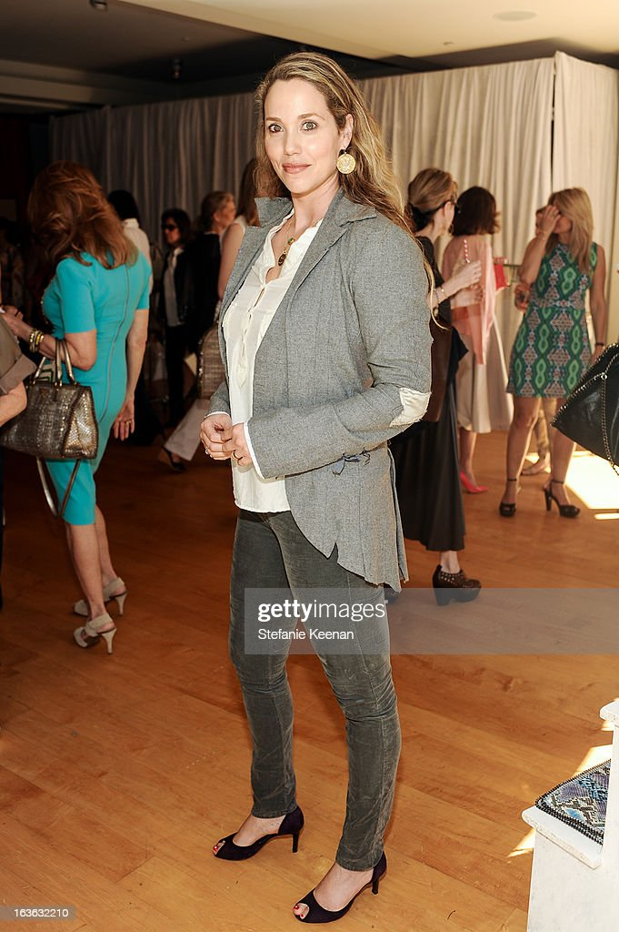 Elizabeth Berkley attends HEART/Stella McCartney Brunch on March 13, 2013 in Beverly Hills, California.