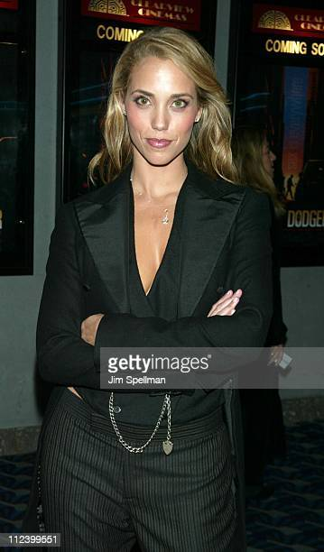 Elizabeth Berkley during 'Roger Dodger' Premiere New York at Chelsea 9 in New York City New York United States