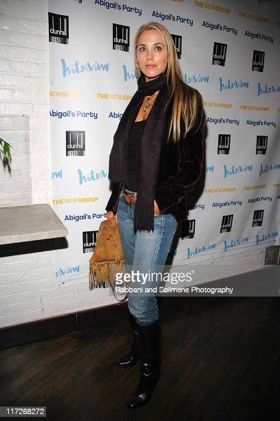 Elizabeth Berkley during The New Group Presents Abigail's Party at Sacha in New York City New York United States