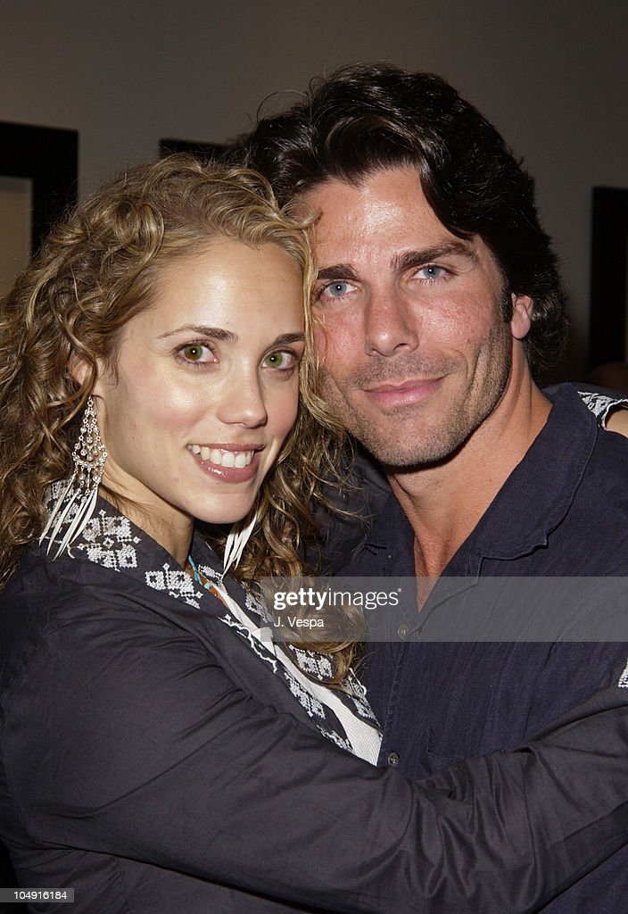 Elizabeth Berkley & Greg Lauren during Greg Lauren Art Opening - Los Angeles at Bergamot Station - BGH Gallery in Santa Monica, California, United States.