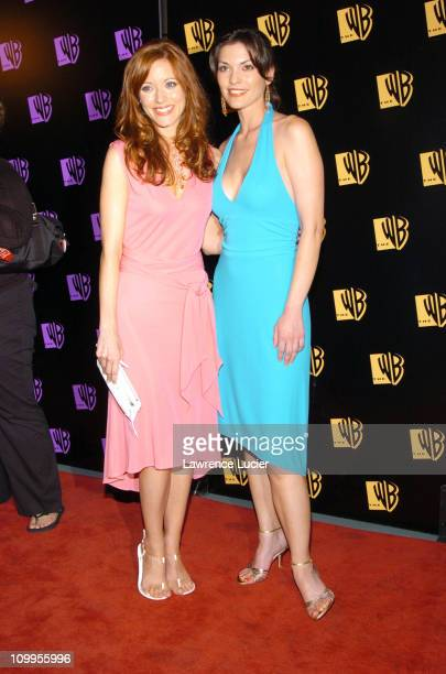 Elizabeth Bogush and Alana de la Garza during WB Primetime 20042005 UpFront at Pier 61 in New York City New York United States