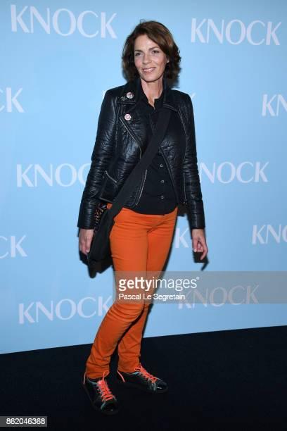 Elizabeth Bourgine attends 'Knock' Premiere at Cinema UGC Normandie on October 16 2017 in Paris France