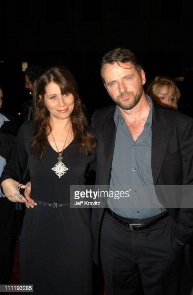 Elizabeth Bracco Aidan Quinn during US Presents 'Evelyn' at Academy of Motion Pictures Arts Sciences in Beverly Hills CA United States