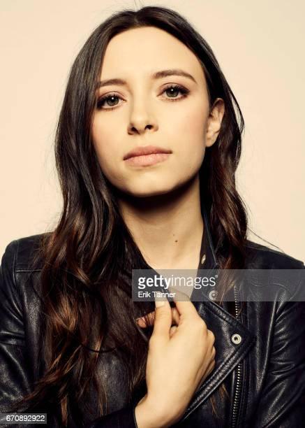 Elizabeth Cappuccino from 'Super Dark Times' attends the 2017 Tribeca Film Festival portrait studio on April 20 2017 in New York City