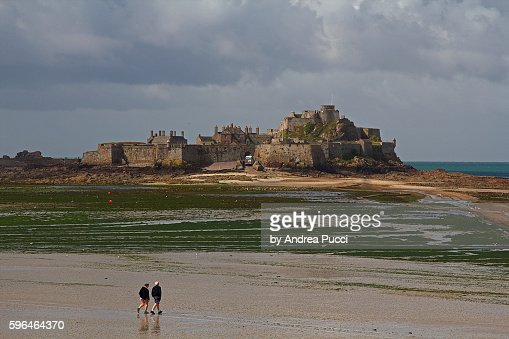 Saint Helier United Kingdom  City pictures : Elizabeth Castle, Saint Helier, Island of Jersey, United Kingdom