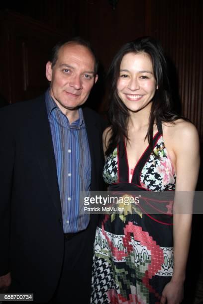 Elizabeth Chai Yasarhelyi and Zach Grenier attend New York Premiere of Elizabeth Chai Yasarhelyi's YOUSSOU NDOUR I BRING WHAT I LOVE at Paris Theatre...