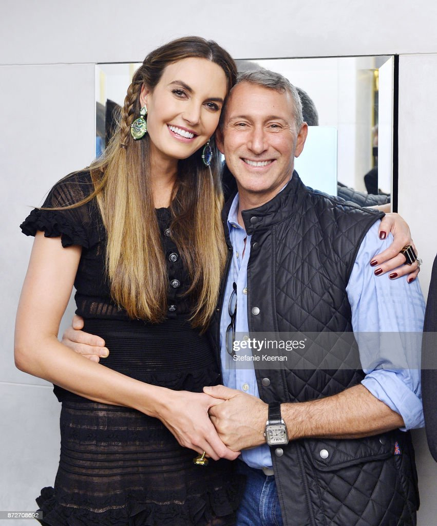 Elizabeth Chambers and Adam Shankman attend David Webb Hosts STOP CANCER with Elizabeth Chambers on November 10, 2017 in Beverly Hills, California.