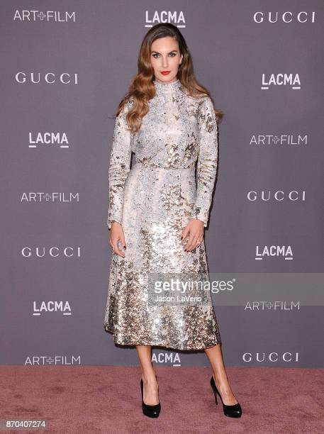 Elizabeth Chambers attends the 2017 LACMA Art Film gala at LACMA on November 4 2017 in Los Angeles California