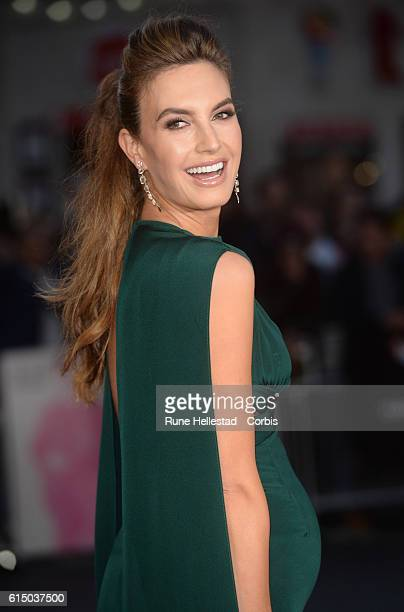 Elizabeth Chambers attends the 'Free Fire' Closing Night Gala screening during the 60th BFI London Film Festival at Odeon Leicester Square on October...