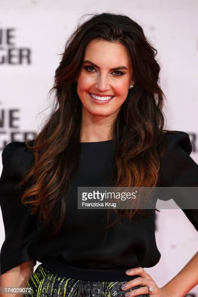 Elizabeth Chambers attends the 'Lone Ranger' Berlin Premiere at Sony Centre on July 19 2013 in Berlin Germany