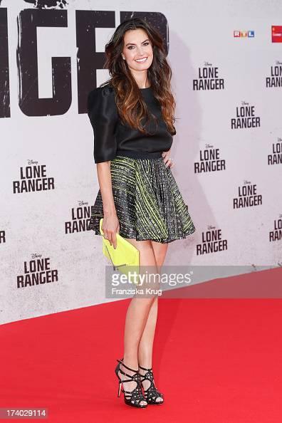 Elizabeth Chambers attends the 'Lone Ranger' Berlin Premiere at Sony Centre on July 19 2013 in Berlin Germany