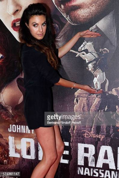 Elizabeth Chambers attends the Paris Premiere of 'Lone Ranger' at UGC Normandy on July 24 2013 in Paris France