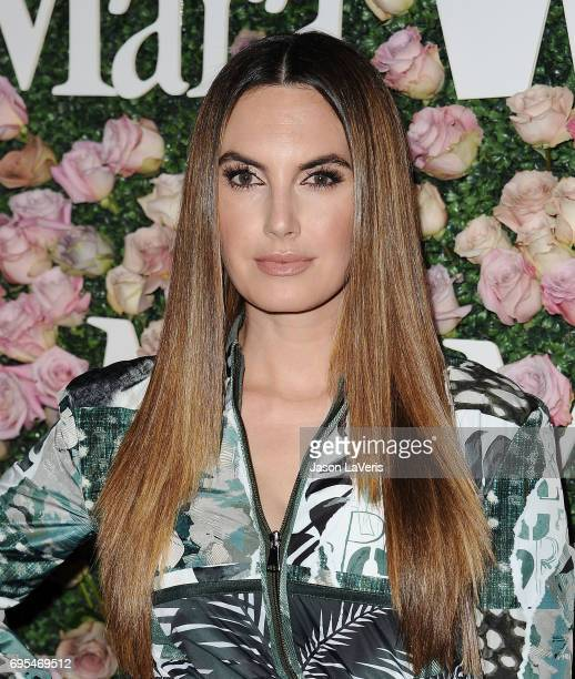 Elizabeth Chambers Hammer attends Max Mara and Vanity Fair's celebration of Women In Film's Face of the Future Award recipient Zoey Deutch at Chateau...