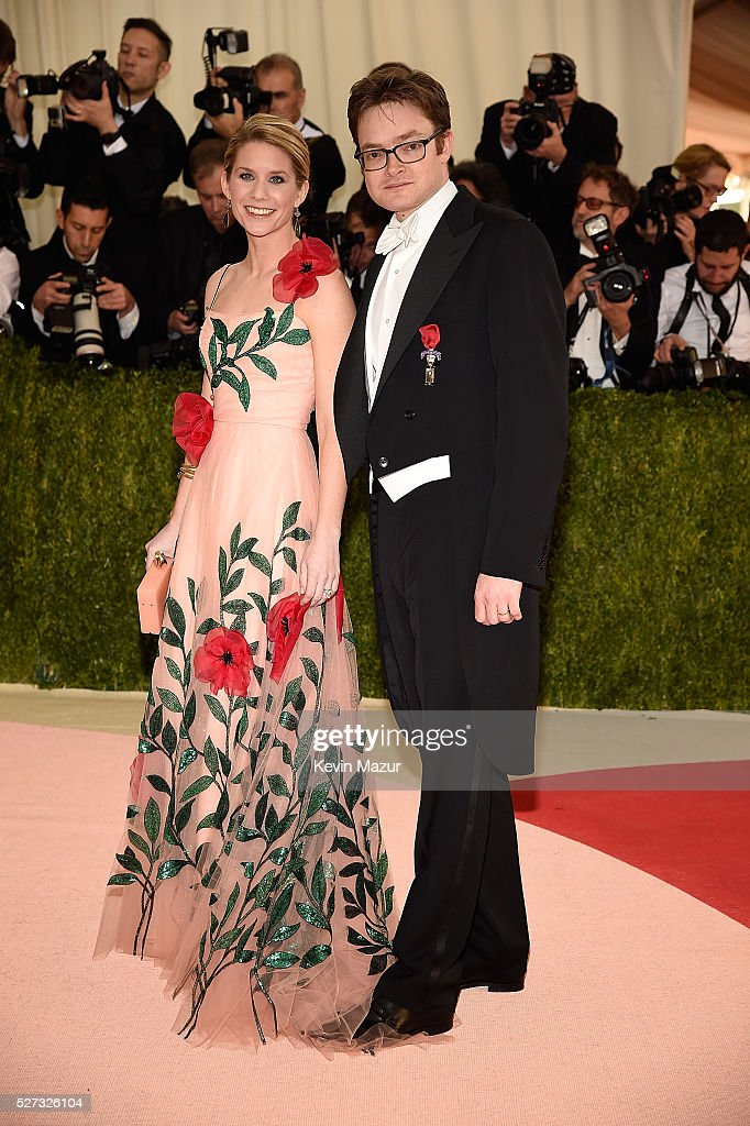 Elizabeth Cordry and Charles Shaffer attend 'Manus x Machina: Fashion In An Age Of Technology' Costume Institute Gala at Metropolitan Museum of Art on May 2, 2016 in New York City.