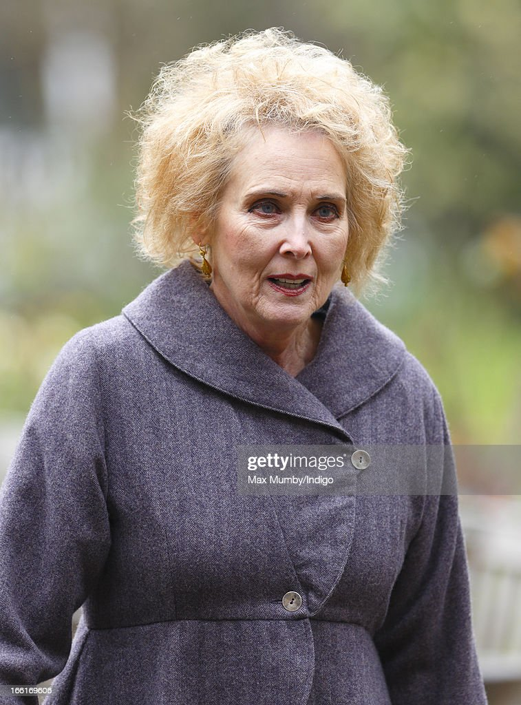 Elizabeth Counsell attends a memorial for actress Dinah Sheridan at St Paul's Church, Covent Garden on April 9, 2013 in London, England. Dinah Sheridan best known for her roles in Genevieve, The Railway Children and Don't Wait Up died on November 25, 2012.