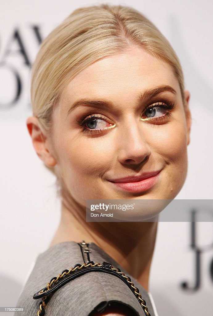 <a gi-track='captionPersonalityLinkClicked' href=/galleries/search?phrase=Elizabeth+Debicki&family=editorial&specificpeople=8410419 ng-click='$event.stopPropagation()'>Elizabeth Debicki</a> arrives at the David Jones Spring/Summer 2013 Collection Launch at David Jones Elizabeth Street on July 31, 2013 in Sydney, Australia.