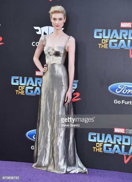 Elizabeth Debicki arrives at the Premiere Of Disney And Marvel's 'Guardians Of The Galaxy Vol 2' at Dolby Theatre on April 19 2017 in Hollywood...