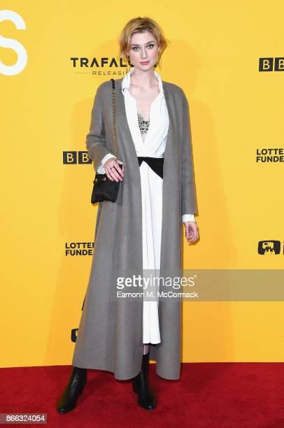 Elizabeth Debicki attends the 'Grace Jones Bloodlight And Bami' UK premiere at BFI Southbank on October 25 2017 in London England