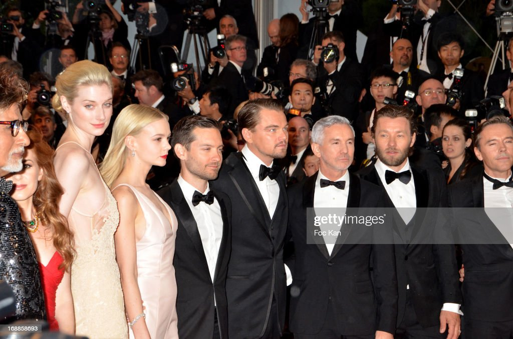 Elizabeth Debicki, Carey Mulligan, Tobey Maguire, Leonardo ...
