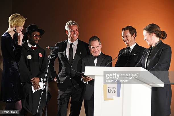 Elizabeth Debicki william Danny Huston Tom Hollander Benedict Cumberbatch and Olivia Colman attend as PORTER hosts a special performance of Letters...