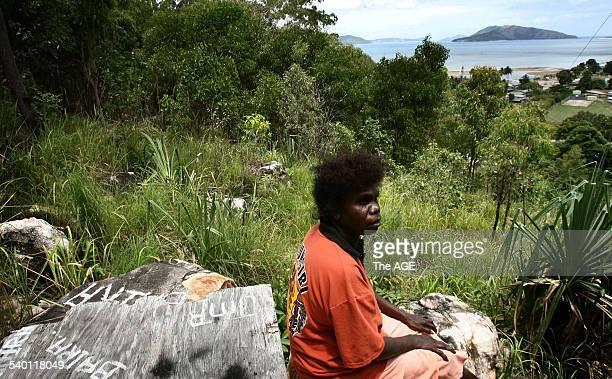 Elizabeth Doomadgee sister of Mulrunji Doomadgee who died in police custody in November 2004 in Palm Island Queensland 15 December 2006 THE AGE...