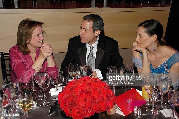 Elizabeth Edwards Rick Stengel and Annette Roque Lauer attend TIME Magazine's 100 Most Influential People 2007 at Jazz at Lincoln Center on May 8...