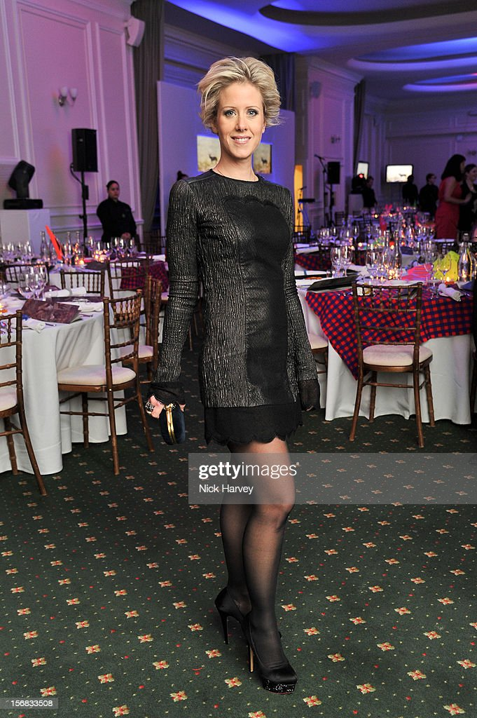 Elizabeth Esteve attends the Zeitz Foundation and ZSL gala at London Zoo on November 22, 2012 in London, England.
