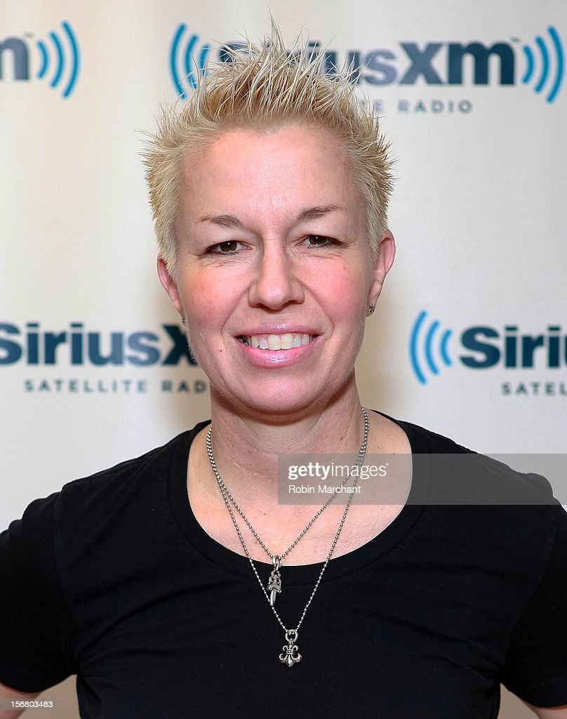 Elizabeth Falkner visits the SiriusXM Studios on November 21, 2012 in New York City.