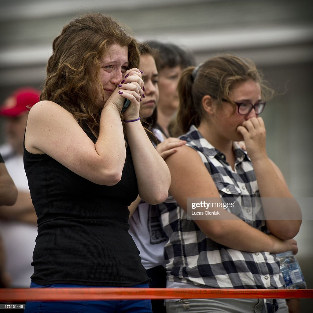 Elizabeth Fillion and her cousin Sarah Maude Fillion broke down in tears at the sight of the derailed train at the and of Laval Street The girls...