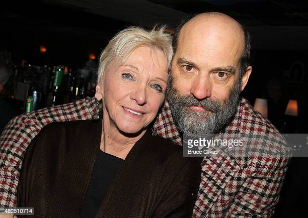 Elizabeth Franz and Anthony Edwards pose at the Opening Night After Party for the revival of Classic Stage Company's production of 'A Month In The...