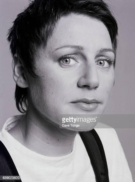 Elizabeth Fraser of Scottish alternative rock group Cocteau Twins Clapham Junction London United Kingdom 1993