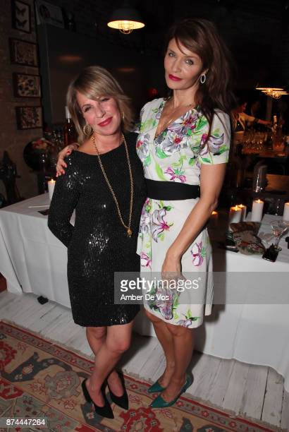 Elizabeth Gaynes and Helena Christensen attend Strangelove NYC's Helena Christensen and Elizabeth Gaynes Host Party Celebrating Launch of New...