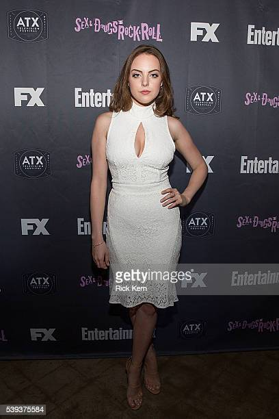 Elizabeth Gillies attends Entertainment Weeklys After Dark party for FXs SexDrugsRockRoll at the ATX Television Festival in Austin TX on Friday June...