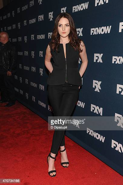 Elizabeth Gillies attends the 2015 FX Bowling Party at Lucky Strike on April 22 2015 in New York City