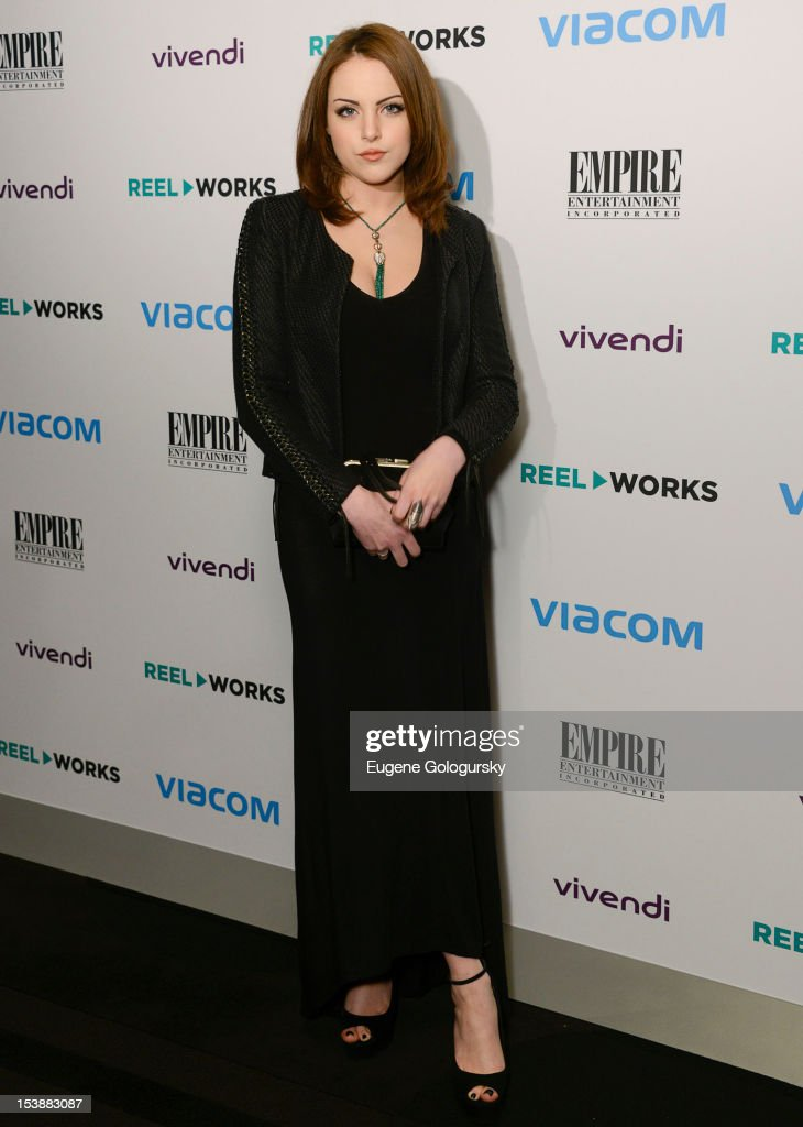 Elizabeth Gillies attends the Reel Works 2012 Gala Benefit at The Edison Ballroom on October 10, 2012 in New York City.