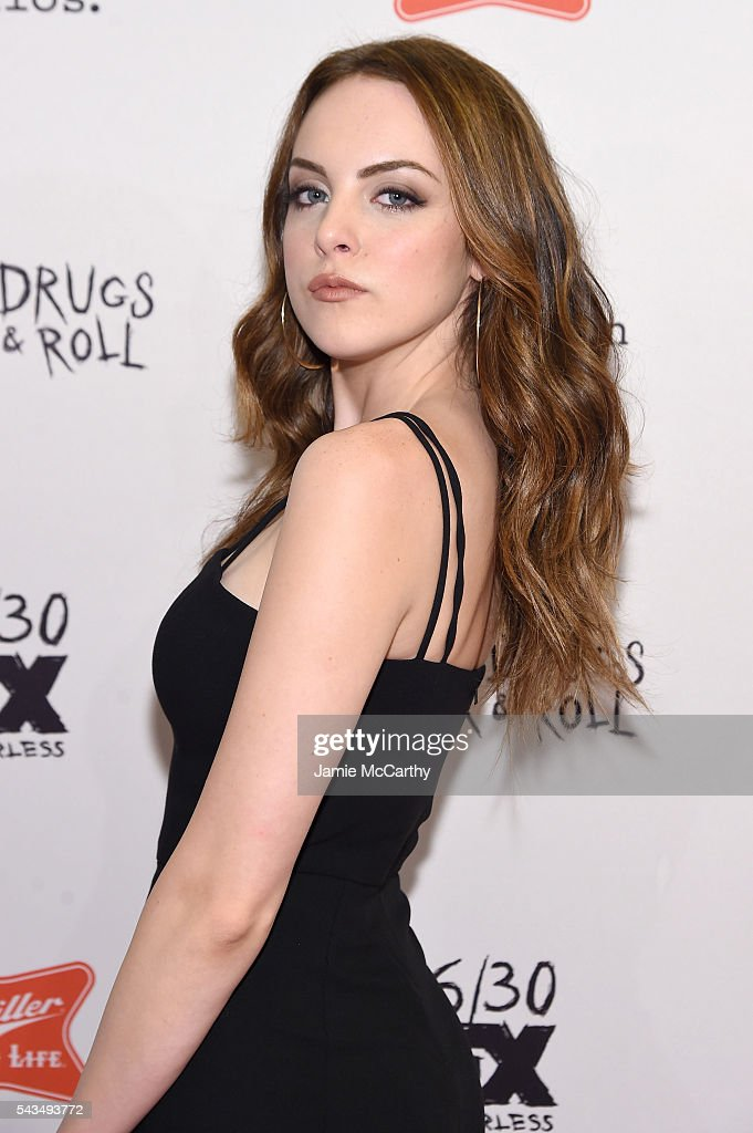 Elizabeth Gillies attends the 'Sex&Drugs&Rock&Roll' Season 2 Premiere at AMC Loews 34th Street 14 theater on June 28, 2016 in New York City.