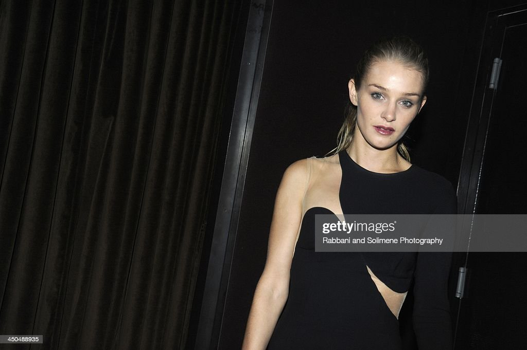 Elizabeth Gilpin attends a cocktail party in honor of Salvatore Ferragamo's Short Film at Neuehouse on November 6, 2013 in New York City.