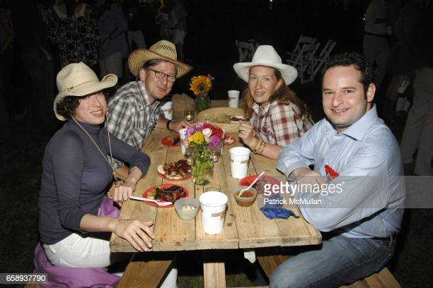 Elizabeth Gordon Harvard Winters Natasha Sekula and Frank Cappello attend HAMPTONS HOEDOWN Hosted by The DORRIAN and TASHJIAN Families at Private...