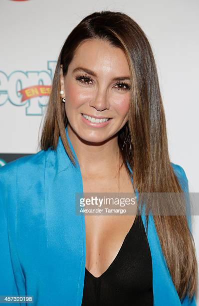 Elizabeth Gutierrez arrives at the 25 Most Powerful Women of People en Espanol celebration at Coral Gables Country Club on October 16 2014 in Coral...
