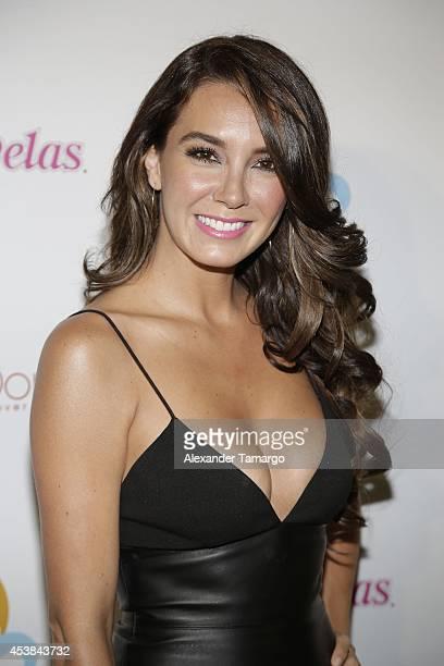 Elizabeth Gutierrez attends the 'Estrellas de Verano' the TV Y Novelas Event at The Bath Club on August 19 2014 in Miami Florida