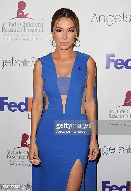 Elizabeth Gutierrez is seen arriving to the St Jude Angels and Stars Gala on May 14 2016 in Miami Florida