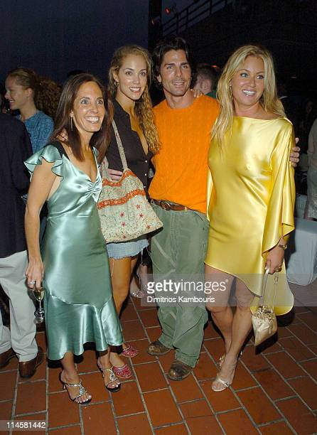 Elizabeth Harrison Elizabeth Berkley Greg Lauren and Lara Shriftman at Roses's Cocktail Infusions launch party for 'Fete Accompli The Ultimate Guide...
