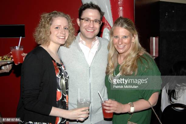 Elizabeth Helb Jason Gordon and Amanda Newman attend LITERACY ASSOCIATES Second Annual Benefit for LITERACY PARTNERS at Carnival on April 27 2010 in...