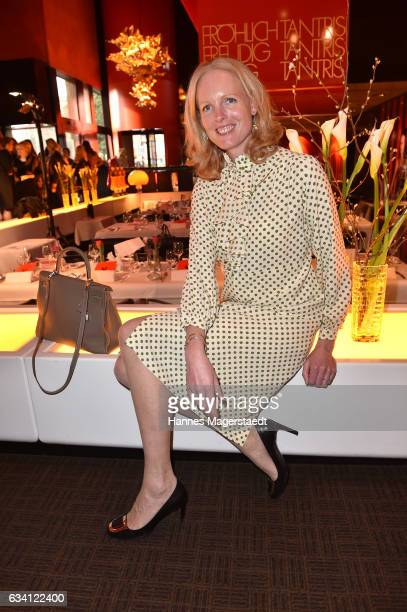 Elizabeth Herzogin in Bayern during the 'DKMS Life Charity Ladies Lunch' at Tantris Restaurant on February 7 2017 in Munich Germany